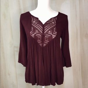 MOSSIMO Peasant Top Size XS